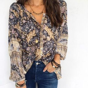 Spell Designs Oasis Nightshade Blouse, Small, BNWT